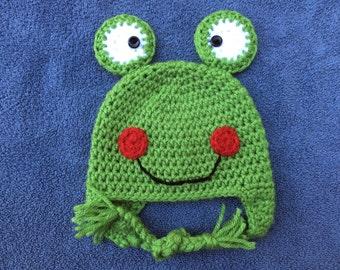 Happy Frog Hat