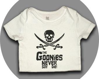 Goonies Never Die - Goonies Movie Onesie or tee