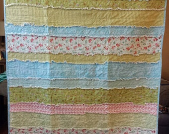 Throw Size Rag Quilt