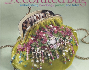 The Decorated Bag embellishing handbags, purses, and totes