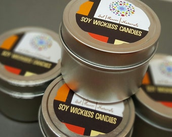 4 oz.  Hand Poured Soy Candle