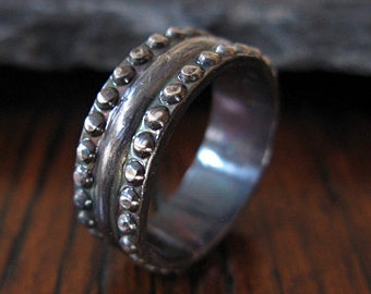 man wedding band mens ring viking ring rustic man wedding band viking wedding ring unique man - Viking Wedding Rings