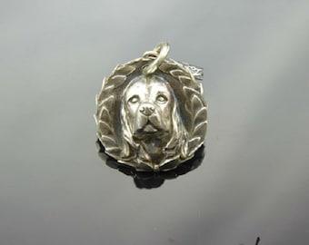 Pendant Dog Silver