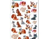 Lady and the Tramp Stickers - Disney Planner Stickers