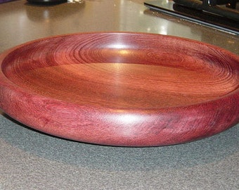 "11 1/2"" Purple Heart Dish"