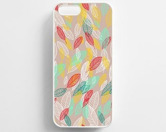 Falling Leaf Pattern iPhone 4/4s, iPhone 5/5s, iPhone 5c, iPhone 6, iPhone 6 Plus Case Cover 077