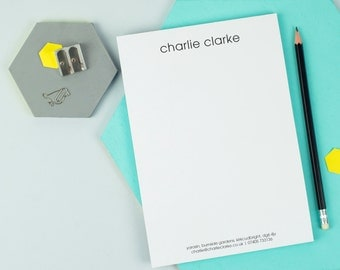 Personalised Classic Writing Pad