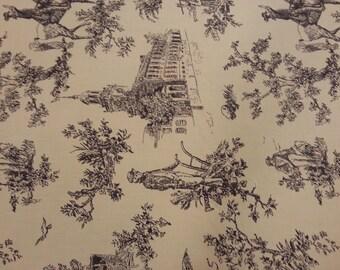 Classic Toile by Marcus Fabrics yardage, item R33 N849 113D