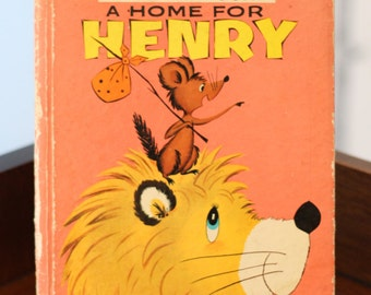 A Home for Henry - 1950s children's book