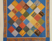 Anything But Boring French Charming quilt pattern