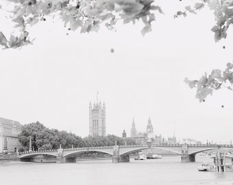 London - Black and White Fine Art Print