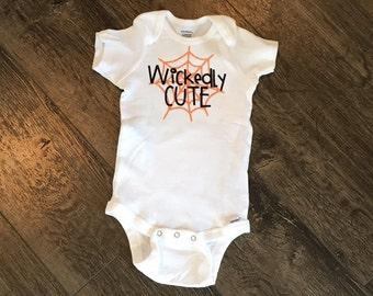 Wickedly cute onesie