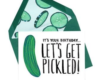 Let's Get Pickled Card