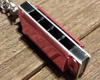 "18"" Harmonica Necklace"