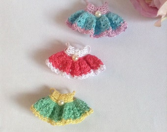 Calico Critters/ Sylvanian Families Crochet Clothes/ Outfit for Mother Made to Order #2006