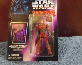 Star Wars Shadows of the Empire Luke Skywalker 1990's Kenner