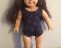 18 inch Doll Clothes - Bathing Suit with Jelly Sandals - FREE U.S. SHIPPING