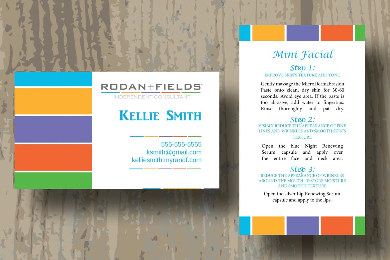 Rodan Fields Business Cards | Unlimitedgamers.co