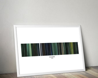 The Matrix • Film Colour Palette
