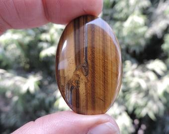 Golden Tiger Eye Natural gemstone Cabochon
