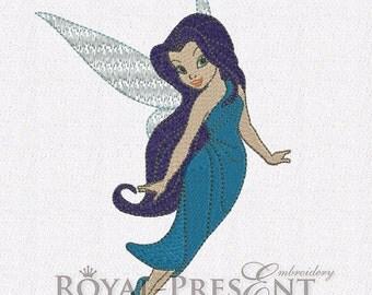 Machine Embroidery Design - Silvermist fairy (2 in 1)