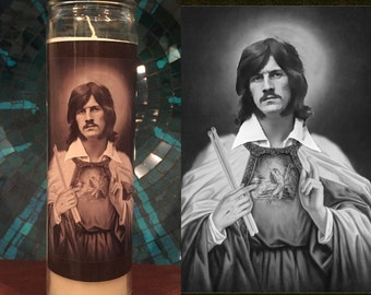 Saint John Bonham Prayer Candle / Led Zeppelin Candle