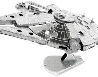 Star Wars Millennium Falcon Metal Earth 3D Metal Model Kit