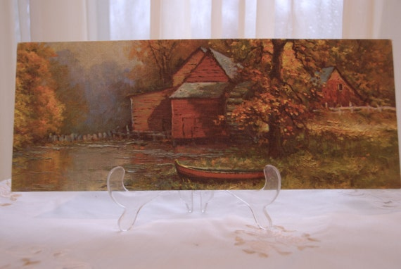 60s Canvas Print Robert Wood The Old Mill