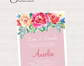 Sweet Romance Collection Printable Invitation