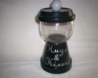 Hugs & Kisses Candy Dish