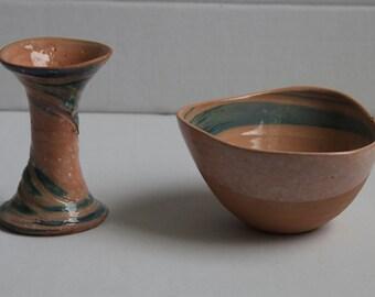 Lilian's Collection Handmade  Pottery Goblet , Ceramic Goblet, Creative Goblet, Terracotta Goblet, Handmade Pottery Drinkware, Wine Goblets.