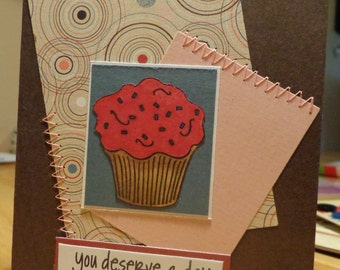 Birthday card, now with sprinkles