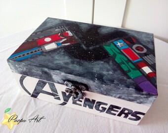 The Avengers (Marvel) wooden box