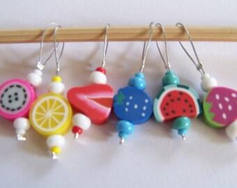 "Stitchmarker ""Fruits"""