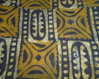 Hand Dyed Batik, Ghana Africa