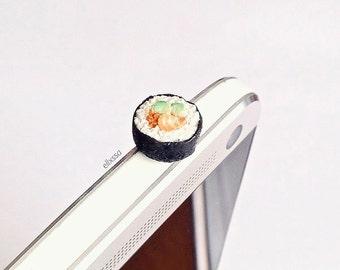 Miniature Sushi Roll Dust Plug