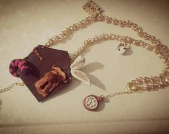 """Necklace """"door of Wonderland"""""""