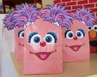 Abby Cadabby Favor Bags set of 12