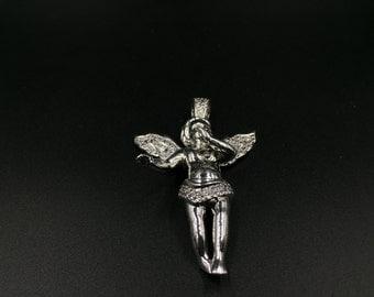 Sliver angel pendants