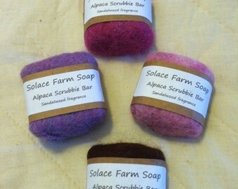 Alpaca-Wrapped Soap 1.5 oz