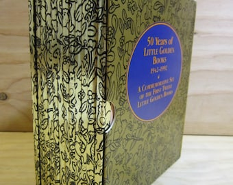 50 Years of Golden Books 1942 - 1992 * A Commemorative Set Of The First Twelve Little Golden Books