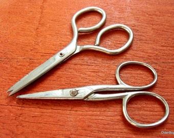 Vintage scissors, scissors sheffield, old scissors, small scissors A00/057