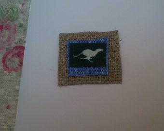 Lurcher/Greyhound card