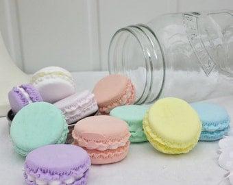 Fake Macaroons, macaroons, display cakes