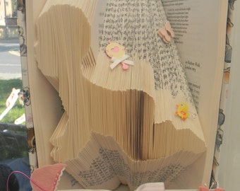 Baby Folded Book Art