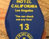 The HOTEL CALIFORNIA inspired Keytag