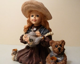 Yesterdays Child, Dollstone Collection, Whitney with Wilson Tea Party