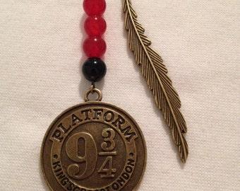 9 3/4 plateform bronze bookmark