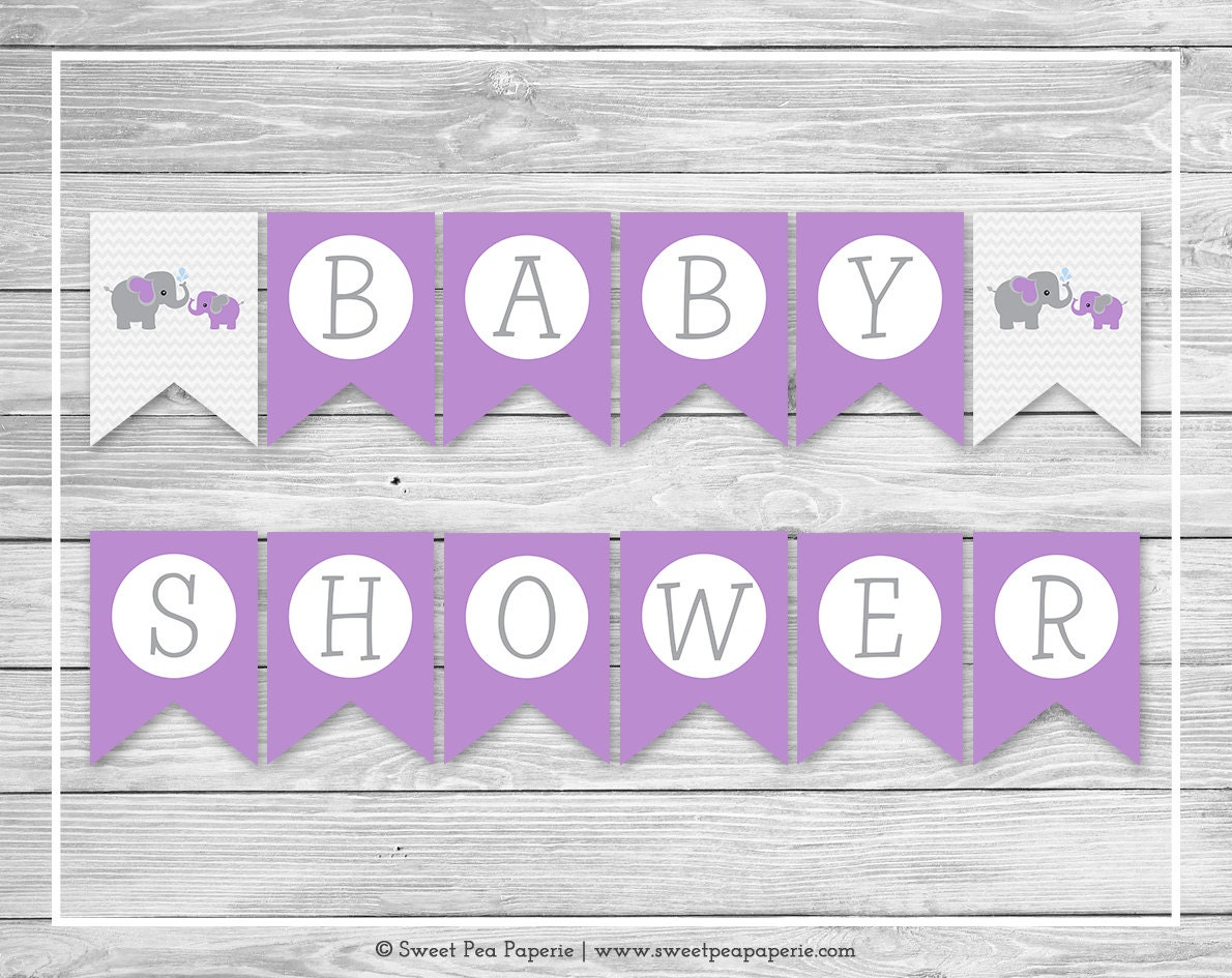 It's just a graphic of Crush Free Printable Baby Shower Banner