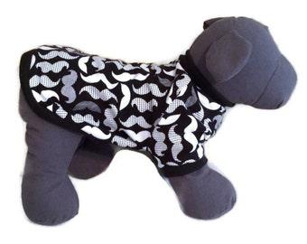Dog Shirt, Short Sleeve Dog Shirt, Dog Clothes, Black Dog Tshirt, Knit Dog Shirt, Small Dog Clothes, Boy Dog Shirt, Dog Tshirt, Dog Pullover